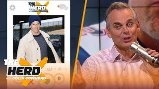 Colin Cowherd plays 'QB Tinder' to choose which teams should commit to their QBs | NFL | THE HERD