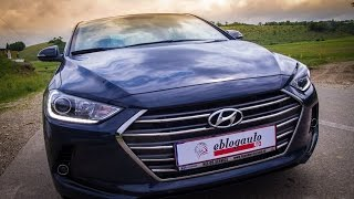 Hyundai Elantra 1.6 CRDi Test Drive Review