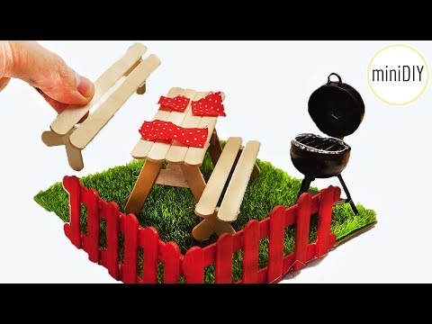 DIY Miniature Dollhouse Garden