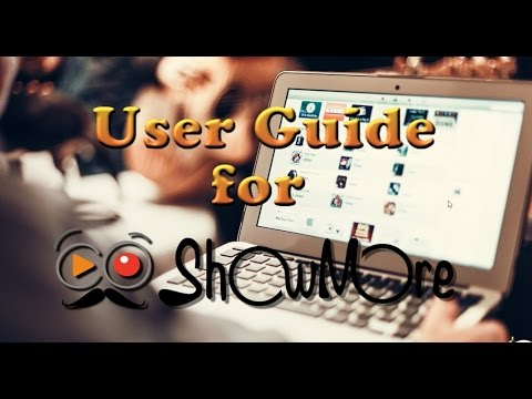How to Use ShowMore for Screen Recording and Video Uploading
