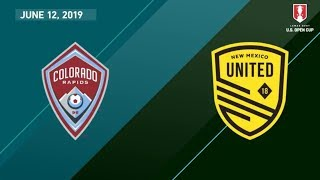 Colorado Rapids vs. New Mexico United | HIGHLIGHTS - June 12, 2019