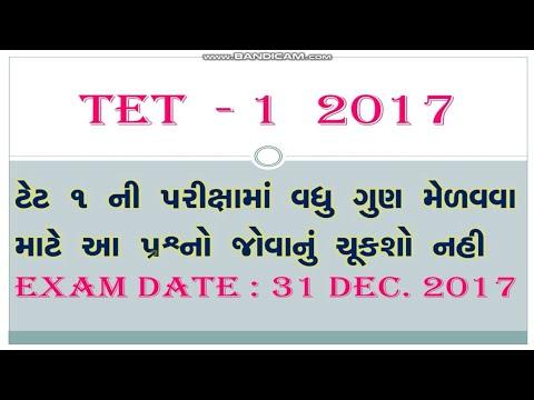 TET 1 2017 exam material || m.imp qustions for 31 Dec 2017 TET 1 exam