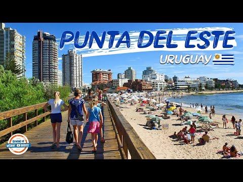 Punta Del Este Uruguay | The Miami Beach of South America | 80+ Countries w/3 kids