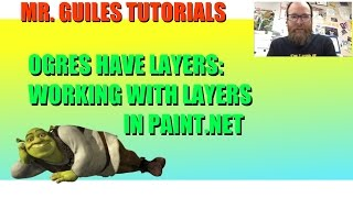 How To Work With Layers In Paint.Net Tutorial