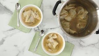 Wonton Soup- Martha Stewart
