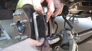 2009 Honda Accord Rear Brake Pad Change