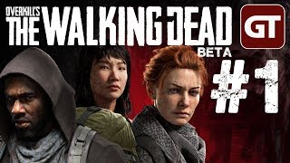 Overkill's The Walking Dead Gameplay German - Let's Play Overkill Walking Dead Beta