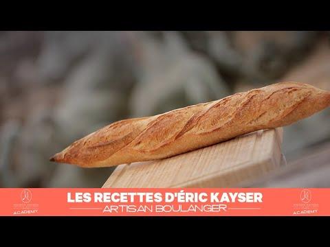 la-recette-du-pain-de-tradition-française:-la-baguette-d'Éric-kayser