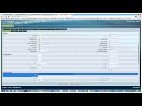 Configure Cisco 303 Phone for VOIP - 3GI Technology