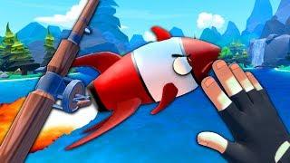 INCOMING ROCKET FISH - Crazy Fishing (VR)