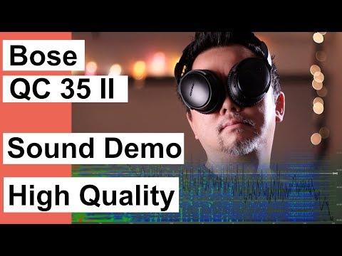 Bose QC35II Sound Demo - AAC ANC Hi In Denial Clean Version - Gloria Tells (Cal 1.0)