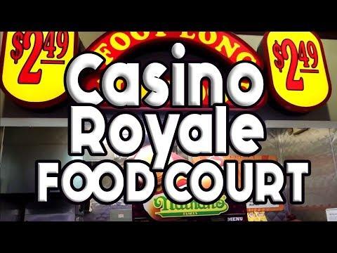 Casino Royale Las Vegas Food Court Restaurant Tour