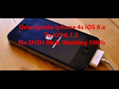 Iphone 4s Downgrade iOS 8.x To 6 1 3 Use odysseusOTA Windows