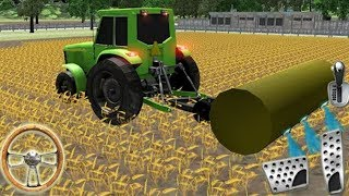Tractor Driving in Farm Simulator | Farm Game Simulator  2018 - Android GamePlay HD