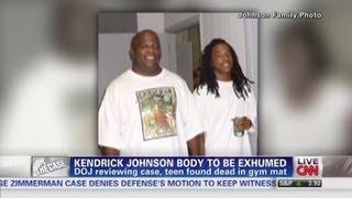 Kendrick Johnson body to be exhumed