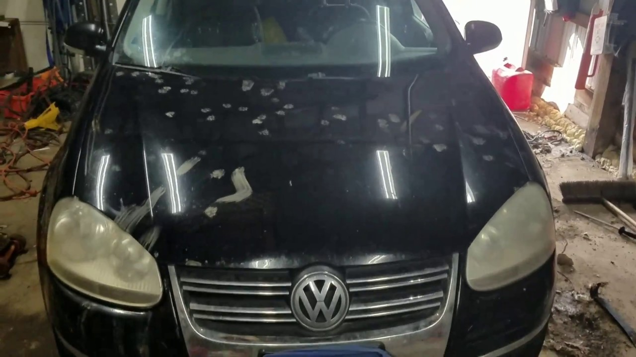 hight resolution of how to change serpentine belt and ac belt on 2006 vw jetta 2 5l value edition