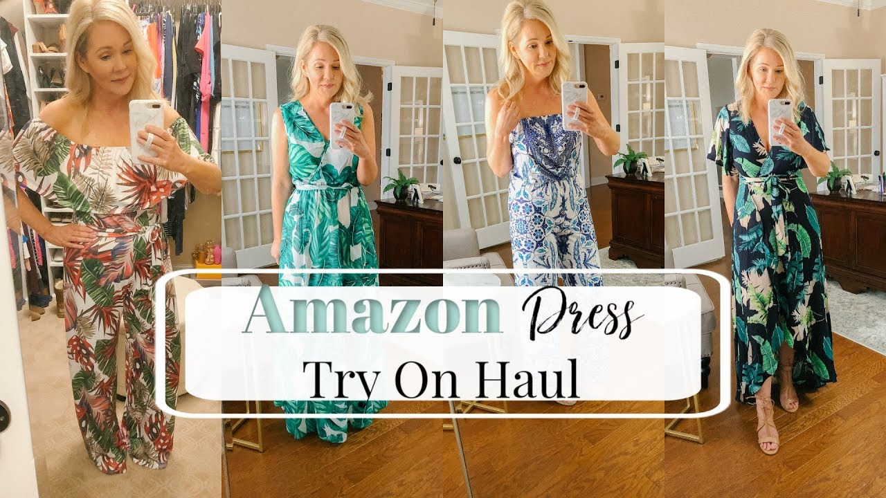 [VIDEO] - Amazon Spring Dress Try On Haul 6