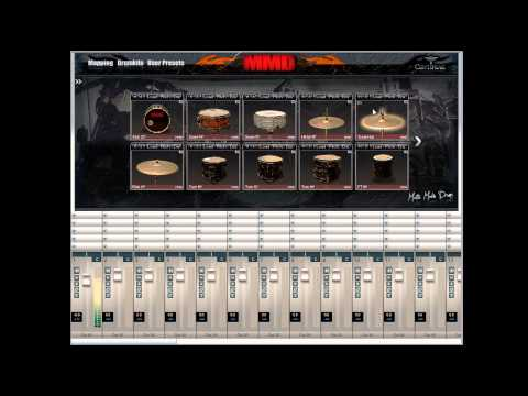 Matte Modin Drums (MMD) - Playthrough