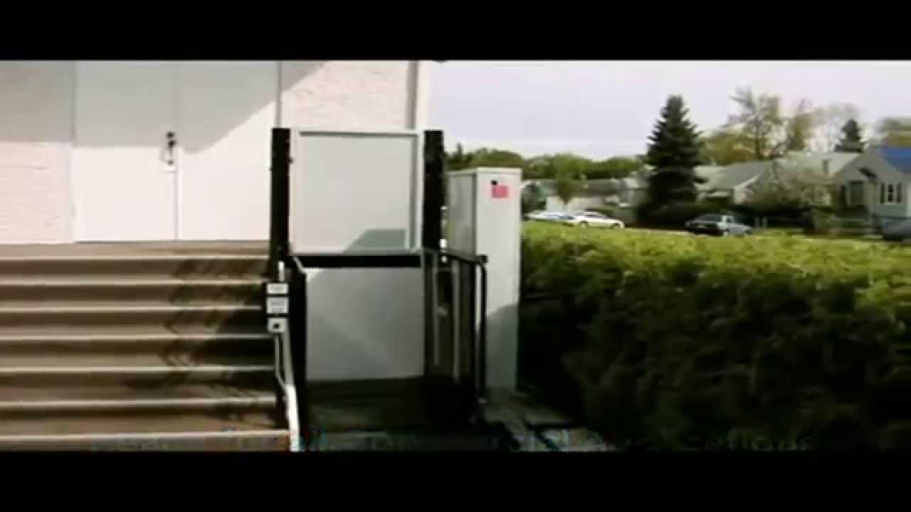 Freedom Exterior Wheelchair Platform Lift - Accessibility ...
