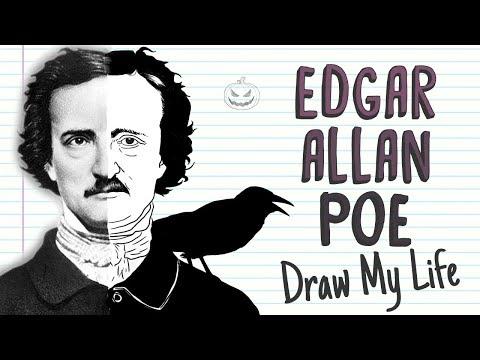 EDGAR ALLAN POE   Draw My Life