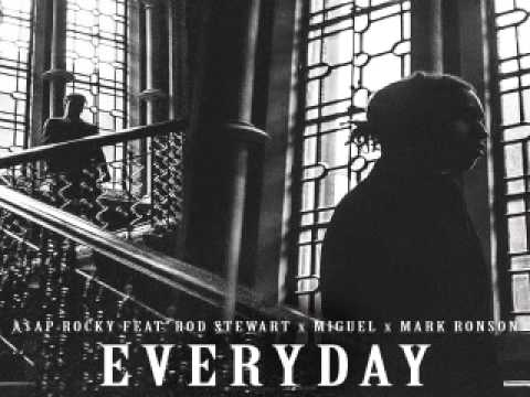 [ DOWNLOAD MP3 ] A$AP Rocky - Everyday (feat. Rod Stewart, Miguel & Mark Ronson) [ ITunesRip ]
