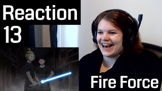 Fire Force Episode 13 Reaction