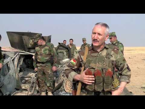 تنظيم الدولة يهاجم قوات البشمركة غرب سنجار