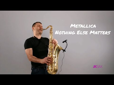 Metallica - Nothing Else Matters (Saxophone Cover By JK Sax)