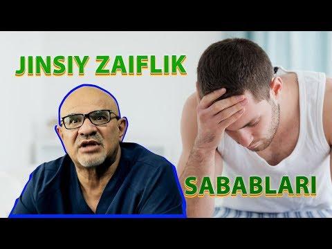 #3 ERKAKLAR UCHUN !!!  JINSIY ZAIFLIK SABABLARI