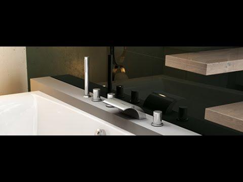 Установка врезного смесителя RAVAK WF 025.00 в акриловую ванну-ЛАН ТЕРМ.