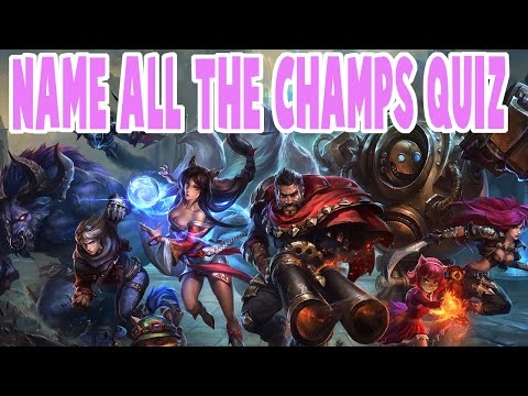 NAME ALL THE CHAMPIONS