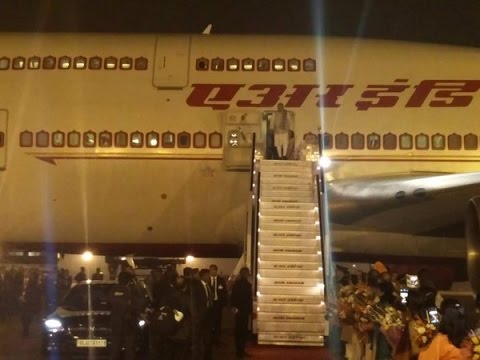 PM Modi arrives at New Delhi after his visit to Malaysia & Singapore
