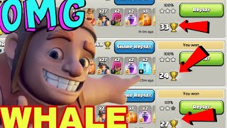How To Find WHALE Bases In LEGENDS LEAGUE || CLASH OF CLANS ||