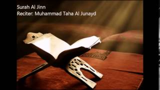 Video 72.Surah Al Jinn by Muhammad Taha Al Junayd download MP3, 3GP, MP4, WEBM, AVI, FLV Juli 2018