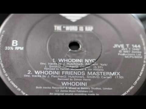 Whodini - Friends (Simon Harris Remix) 1987
