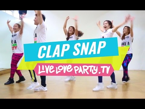 Clap Snap  Recover Track    Zumba     Live Love Party Poster
