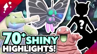 EXTREME SHINY MONTAGE 70+ Shiny Reactions in Pokemon What's Up Pikachu!