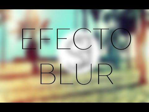 #3 Photoshop CC - Efecto Blur