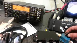 160m beverage antennas test with local AM stations ARRL 160m CW contest 2012