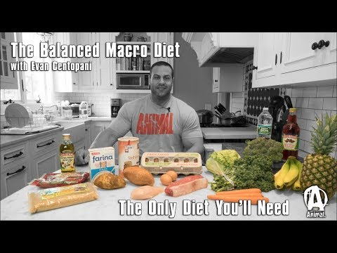 The Only Diet You'll Need: The Balanced Macro Diet with Evan Centopani