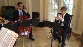 Mouret Rondeau Trumpet and String Trio