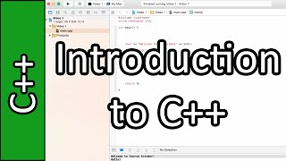 Learn C++ as your first Programming Language - C++ Programming Tutorial #1 (PC / Mac 2015)