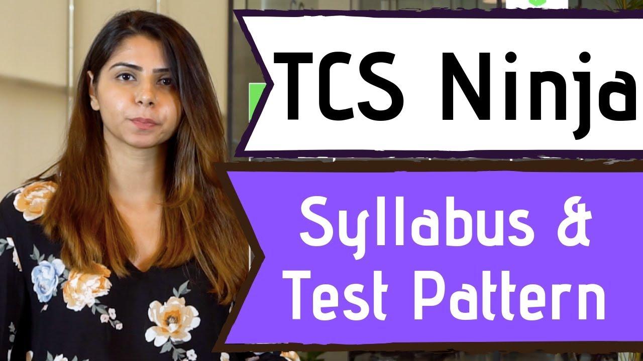 Latest) TCS Ninja Syllabus 2020 for 2019 Aptitude Test Pattern