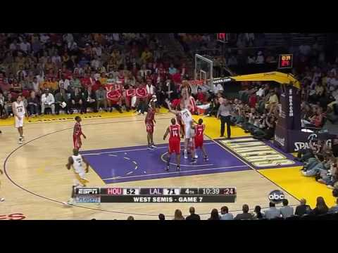 Lakers vs Rockets Game 7 05/17/09 - Lakers Win! Goes to the WCF vs Nuggets!