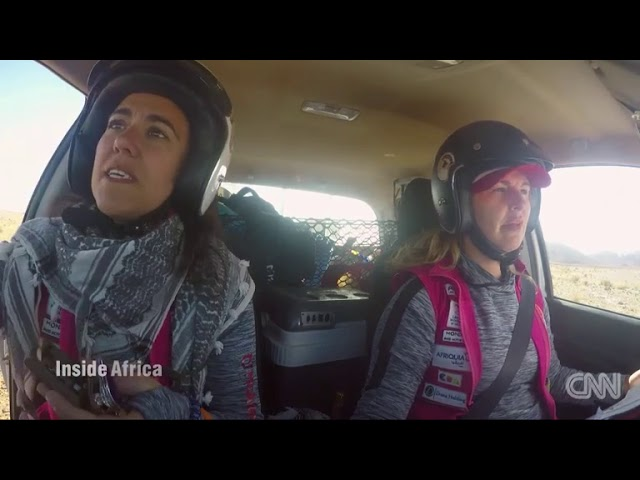 Rally des Gazelles! the only  women race in the world  | Morocco  - Inside Africa | CNN Africa