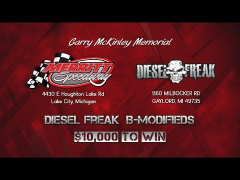 $10,000 | Merritt Speedway | Diesel Freak B-Modifieds | Sept 6-7, 2019