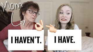 OFF LIMITS NEVER HAVE I EVER WITH MY MOM| TEEN MOM