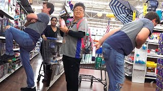 THE POOTER - Farting on People of Walmart in Vegas