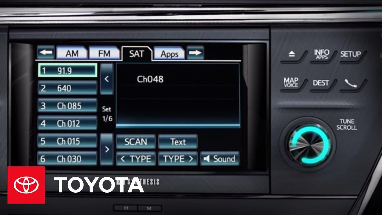 2013 toyota avalon audio system manual
