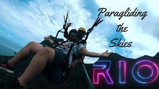 Rio De Janeiro//Paragliding - The Full Flight